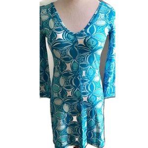 Lilly Pulitzer Long Sleeve Knit Dress XS
